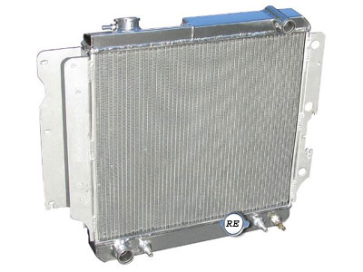 All Aluminum Radiator Construction Details